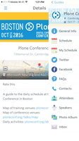 Conference Guidebook app