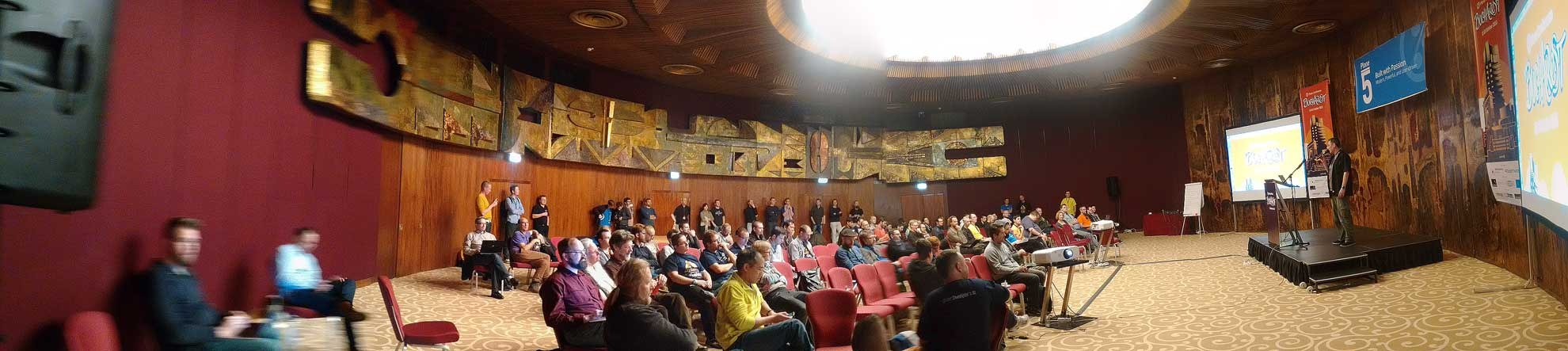 Plone Conference 2015 Bucharest – Great Hall